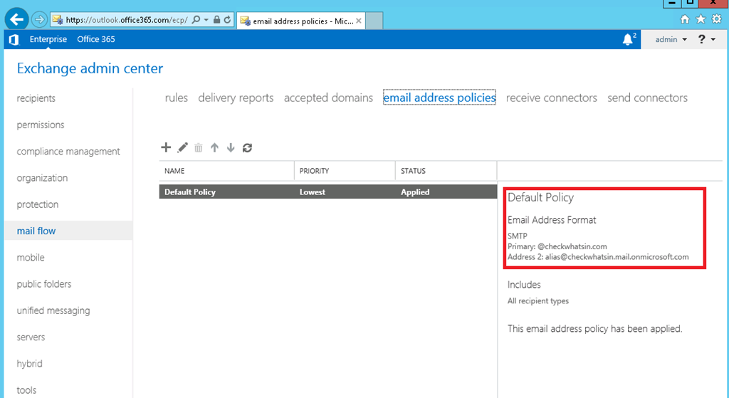 Office 365 Hybrid Configuring Using Windows Azure – Part 5