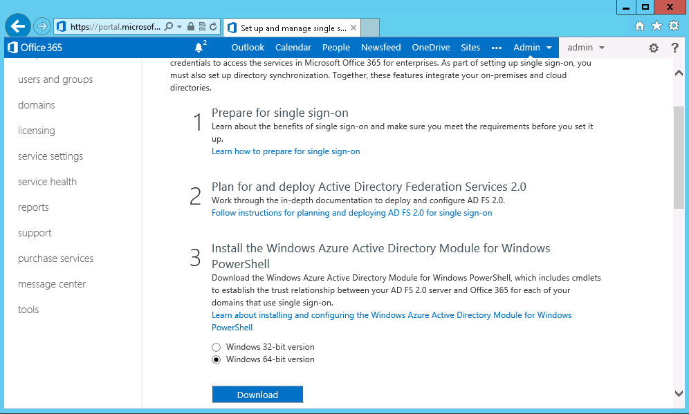 Office 365 Hybrid Configuring Using Windows Azure – Part 3 | SMTP